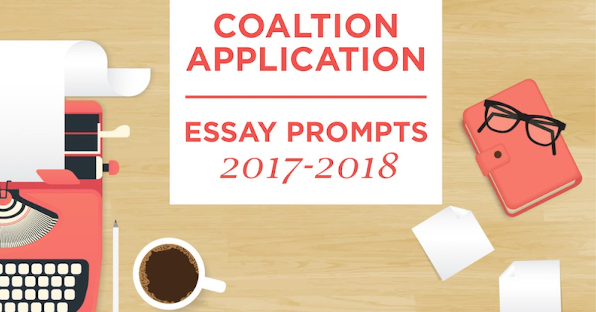 best college essay prompts 2017