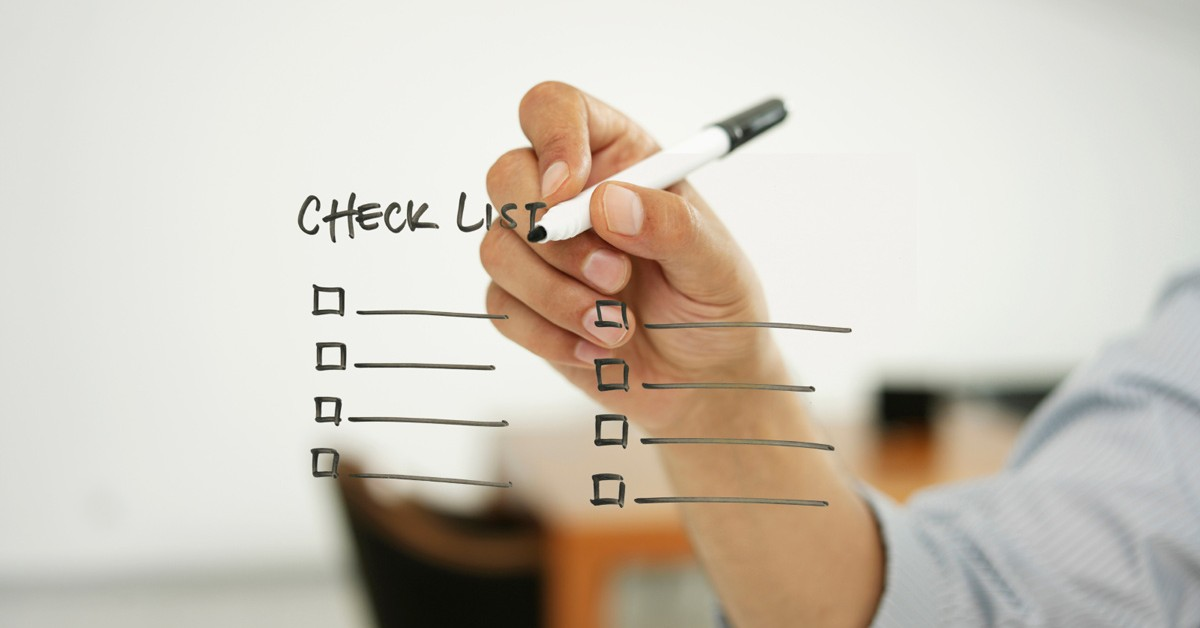 Your Final Early Application Checklist