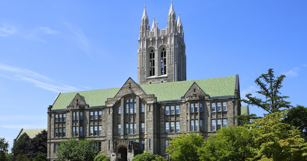 bc college essay Bapst library, named for the first president of boston college writing an education research paper: research paper sections.