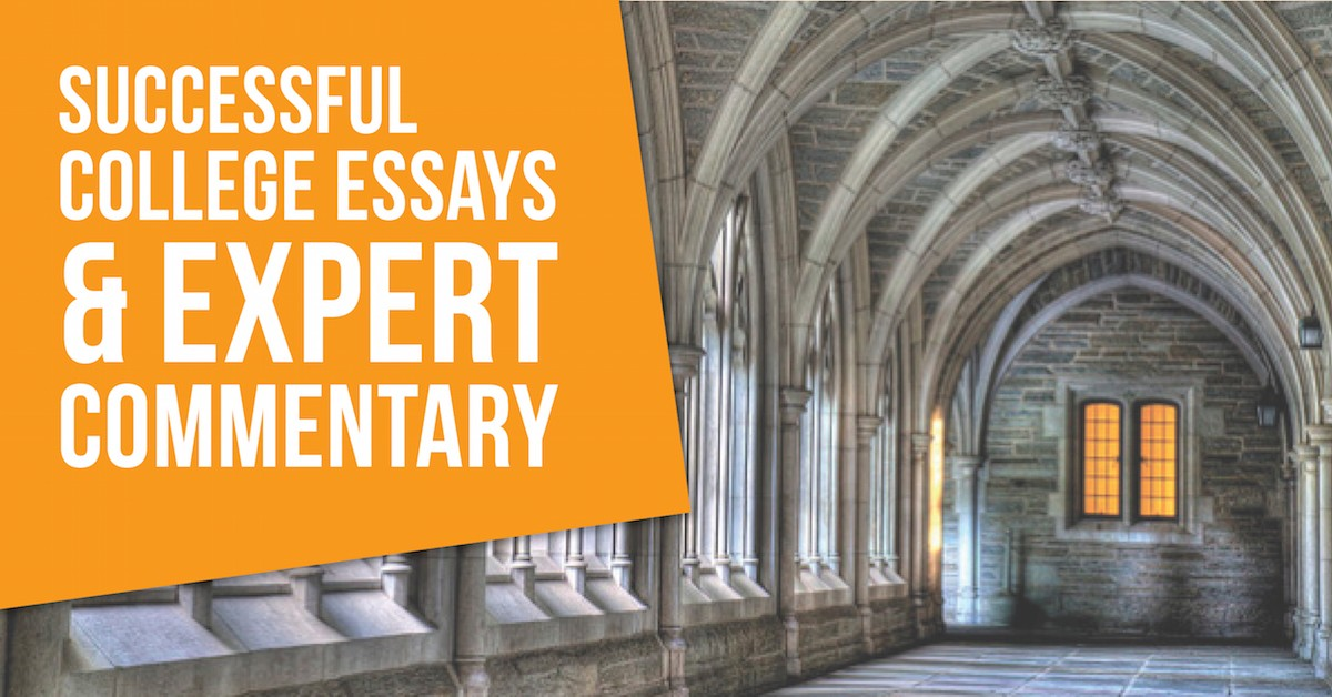 The New and Improved 50 Successful College Admissions Essays