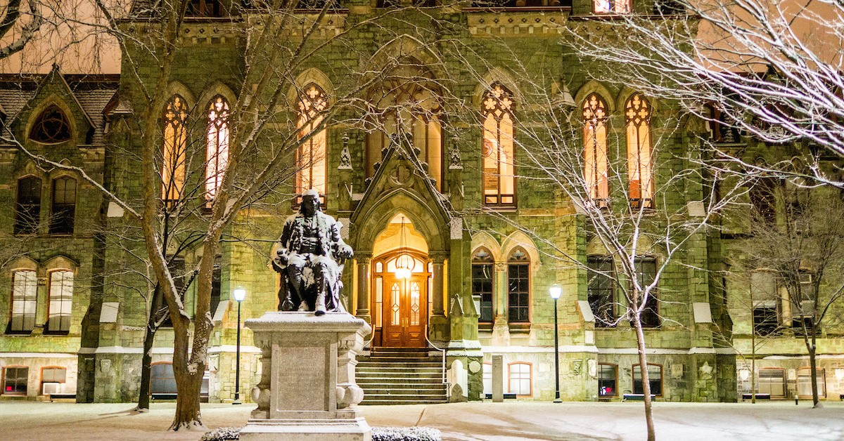 University of Pennsylvania Class of 2022's Record-Breaking Low Early Acceptance Rate