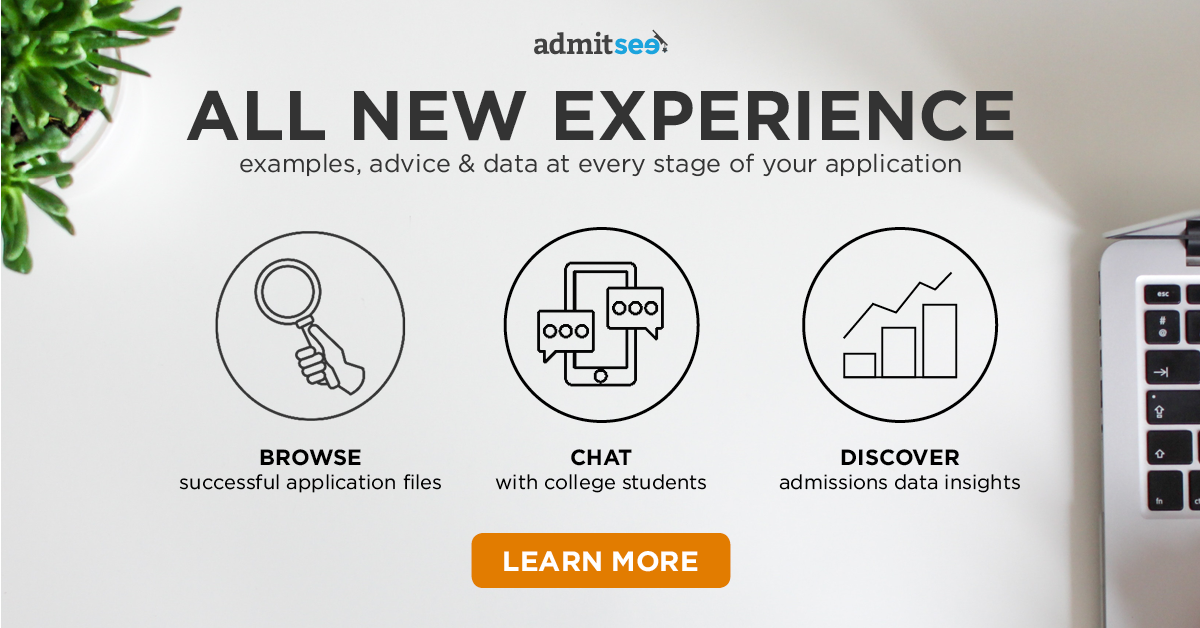 Get Accepted to College with the New & Improved AdmitSee Experience