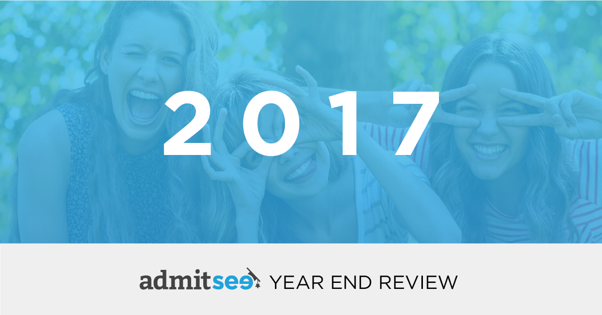 AdmitSee 2017: Year In Review