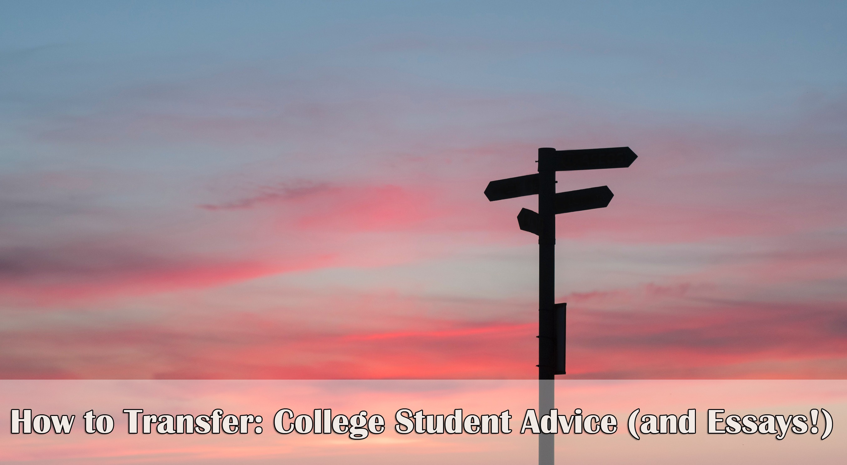 How to Transfer Colleges: Advice from Transfer Students (including transfer essays!)