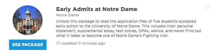 university of notre dame supplemental essay prompts  our premium plans offer different level of profile access and data insights that can help you get into your dream school unlock any of our packages or