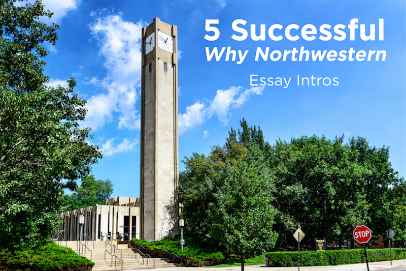 Northwestern university essay