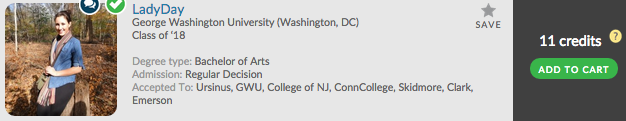 Looking to go to GWU? Check out LadyDay's Admit Profile