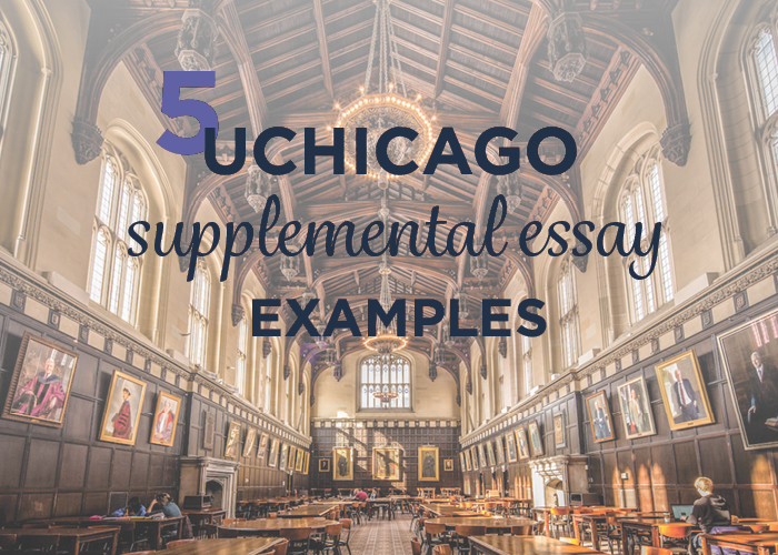 A Guide to the UChicago Supplement