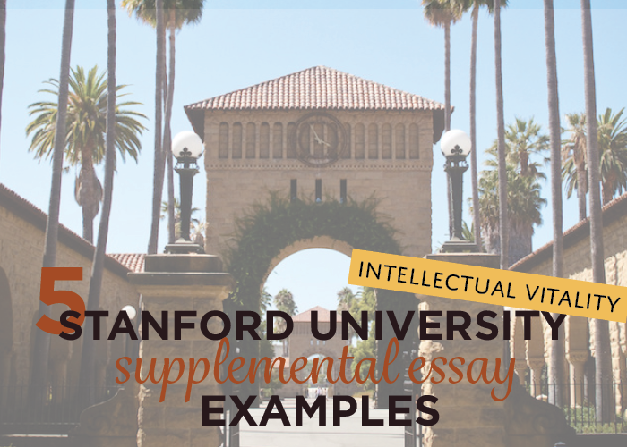 stanford students possess an intellectual vitality essay Stanford supplemental essay - with a free essay review - free essay reviews essayjudge stanford students possess an intellectual vitality.