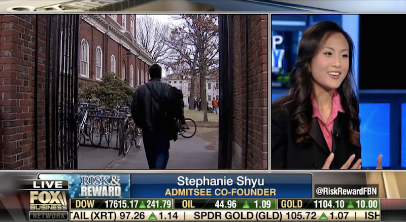 AdmitSee's founder on Fox Business