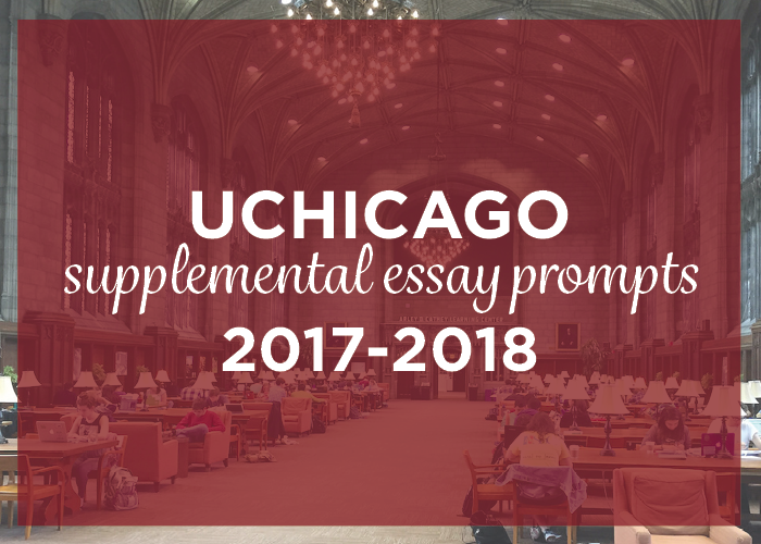 university of chicago essay prompts University of chicago takes the common application, which requires an essay click here for the common application essay prompts university of chicago also has these supplemental essays:.
