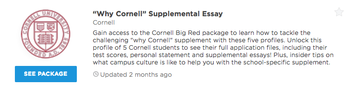 why cornell rdquo supplemental essay examples admitsee our premium plans offer different level of profile access and data insights that can help you get into your dream school unlock any of our packages or