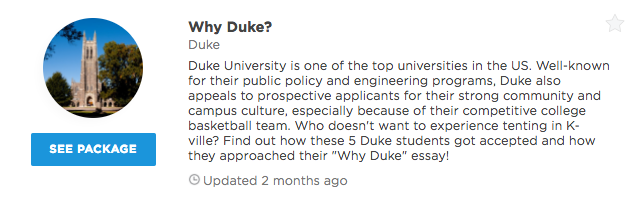 duke supplemental essays