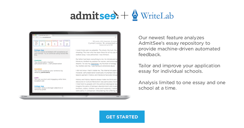 automated essay editing feature leverages ai and historical data  above all college applicants cite application essays as the most stressful part of applying