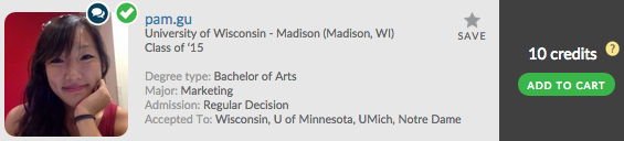 Want to go to UW-Madison? Don't miss out on Pam.gu's Admit Profile!