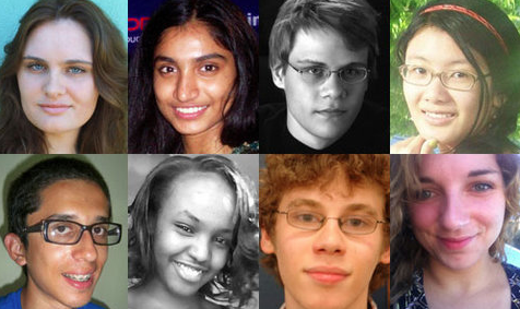 The faces of the class of 2013.